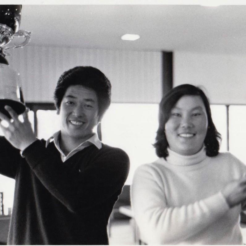 11985年美津濃新人獎 冠軍