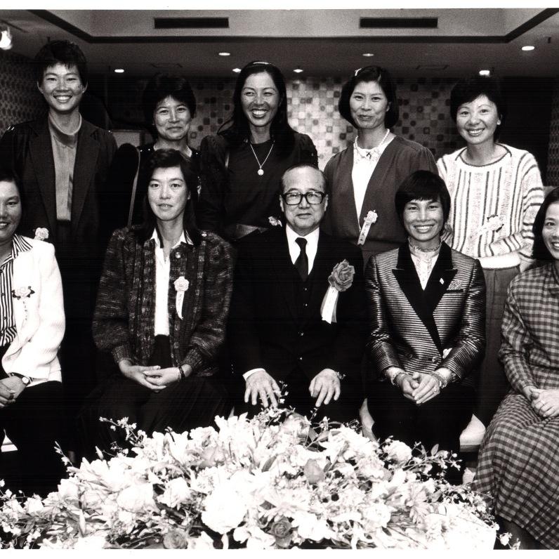 1986年與駐日大使