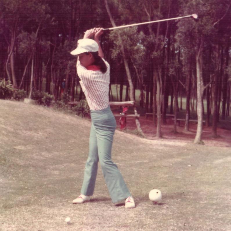 1971年 高爾夫啟蒙